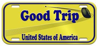 bon voyage Etats-Unis Photos libres de droits