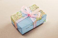 Bon voyage gift Stock Images