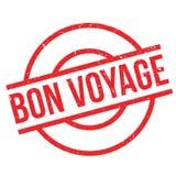 Bon Voyage rubber stamp Royalty Free Stock Photos
