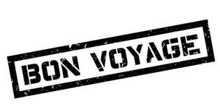 Bon Voyage rubber stamp Stock Photos
