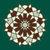 Bonab Arabic Ornament Royalty Free Stock Images
