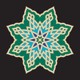 Bonab Arabic Ornament Two Royalty Free Stock Photos