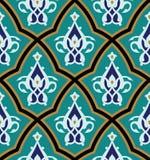 Bonab Seamless Pattern One Royalty Free Stock Image