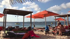Bonaire beach stock video