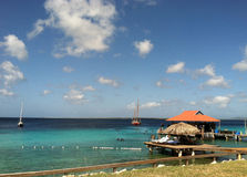 Caribbean Beach. This photo was taken on the island of Bonaire in the Caribbean Stock Photography