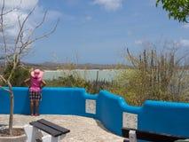 Bonaire = Gotomeer Lake Stock Photo