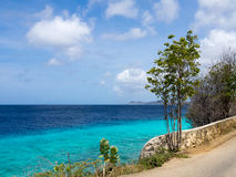 Bonaire. The Karpata coastline of Bonaire Dutch Antilles Caribbean stock image