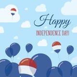 Bonaire, Sint Eustatius and Saba Independence Day. Royalty Free Stock Photos