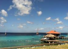 Bonaire strand Arkivbild