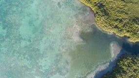 Bonaire wyspy Sarobon morza karaibskiego wybrzeża laguna Obrazy Royalty Free