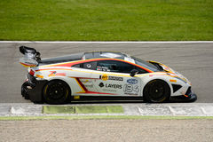 Bonaldi Motorsport Lamborghini Gallardo Italian GT 2015 at Monza Stock Image
