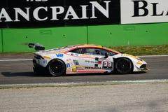 Bonaldi Motorsport Lamborghini Huracan 2015 in Monza Royalty-vrije Stock Foto