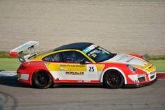 Bonaldi Motorsport Porsche 911 GT3 Kop in Monza royalty-vrije stock afbeelding