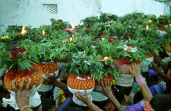 BONALU_ THE FESTIVAL OF MOTHER CULT Stock Image