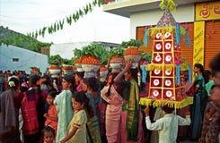bonalu kultowa festiwalu matka Fotografia Stock