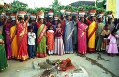 bonalu kultowa festiwalu matka Zdjęcie Royalty Free