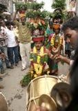 Bonam som tas till templet Royaltyfri Bild