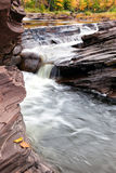 Bonanza Falls in the Upper Peninsula of Michigan - Autumn Royalty Free Stock Photography