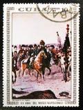 ` Bonaparte de peinture dans le ` de l'Egypte par Edouard Detaille, des peintures de ` de série dans le ` de Napoleon Museum, ver Images stock