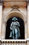 bonaparte invalides les napoleonu statua Obraz Stock
