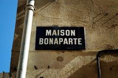 bonaparte napoleon места рождения стоковые изображения rf