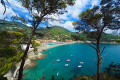 Bonassola - Liguria - Italy Stock Image
