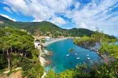 Bonassola - Liguria - Italy Stock Photography