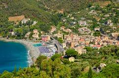 Bonassola, Liguria (Włochy) obraz royalty free