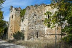 Bonaval修道院的废墟  免版税图库摄影