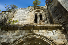 Bonaval修道院的废墟  免版税库存图片
