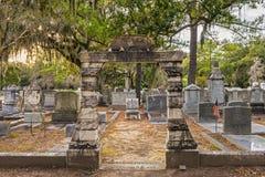 Bonaventure Cemetery i Savannah, Georgia Royaltyfria Foton