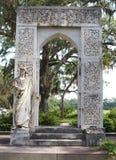 Bonaventure Cemetery near Savannah, Georgia stock photo