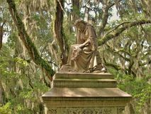 Bonaventure Cemetery near Savannah, Georgia stock images