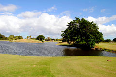 Bonaventure County Club golf course. In Florida USA Royalty Free Stock Photo