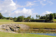 Bonaventure okręgu administracyjnego klubu pole golfowe zdjęcia royalty free