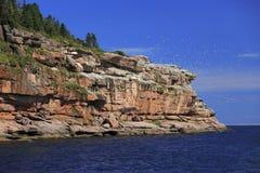 Bonaventure wyspa w Gaspesie, Kanada zdjęcia royalty free