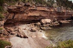 Bonaventure wyspy zatoczki Gaspe półwysep Quebec zdjęcia royalty free