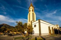 Bonaza教会在埃尔帕索 库存图片