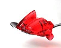 bonbon à fraise de gelée Photo libre de droits