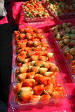 Bonbon à goût de fraise Photos libres de droits