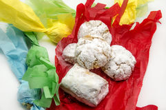 Bonbon à Noël Images libres de droits