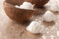 Bonbon à noix de coco Photographie stock