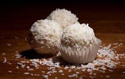 Bonbon avec la noix de coco Photographie stock
