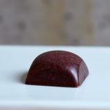 bonbon d'isolement par chocolat Photographie stock