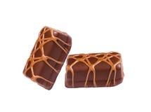 bonbon d'isolement par chocolat Photographie stock libre de droits