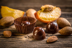 Bonbon de chocolat Photos libres de droits