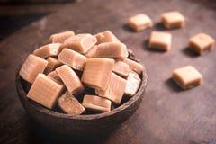 Bonbon del caramello fotografia stock