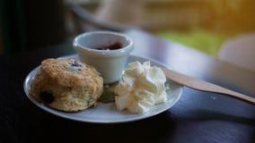Bonbon für das Dienen am Frühstück lizenzfreie stockbilder