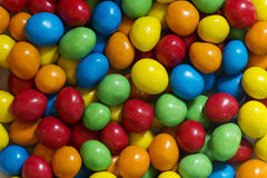 Bonbon farbige Süßigkeiten Stockfotos