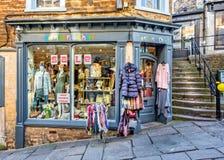 Bonbon szyka sklepu przód w Frome, Somerset Obrazy Stock